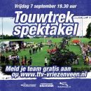 Touwtrek spektakel 7 september 2018